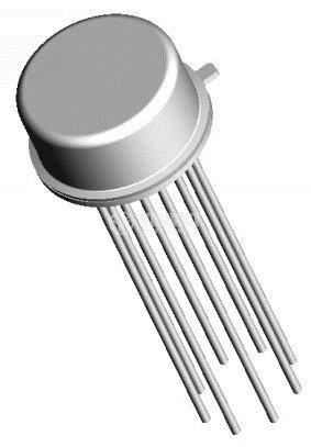 IC 1U101 / uA101, operational amplifier, DIP14