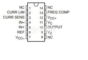 IC uA723 / MAA723 voltage regulator  DIP14 / TO-39 - 2