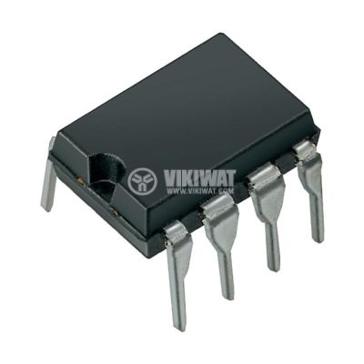 Интегрална схема TL072, двоен операционен усилвател, DIP8