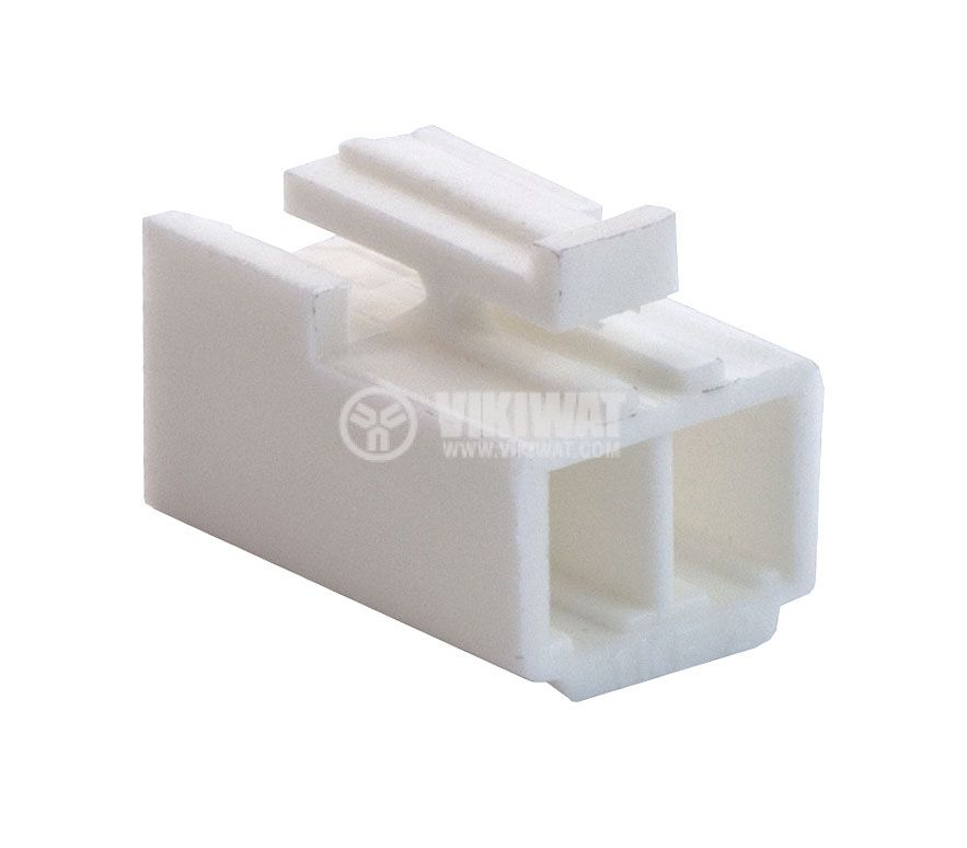 Конектор за обемен монтаж женски, VF39600-2Y, 2 пина - 1