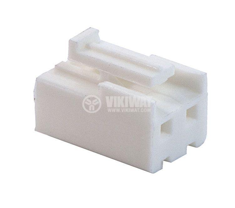 Конектор за обемен монтаж женски, VF39600-2Y, 2 пина - 3