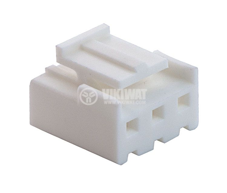 Конектор за обемен монтаж женски, VF39600-3Y, 3 пина - 1