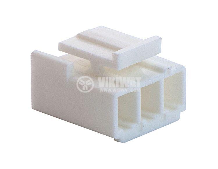 Конектор за обемен монтаж женски, VF39600-3Y, 3 пина - 3