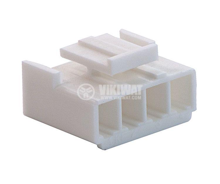 Конектор за обемен монтаж женски, VF39600-4Y, 4 пина - 1