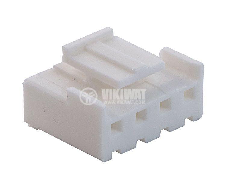 Конектор за обемен монтаж женски, VF39600-4Y, 4 пина - 3