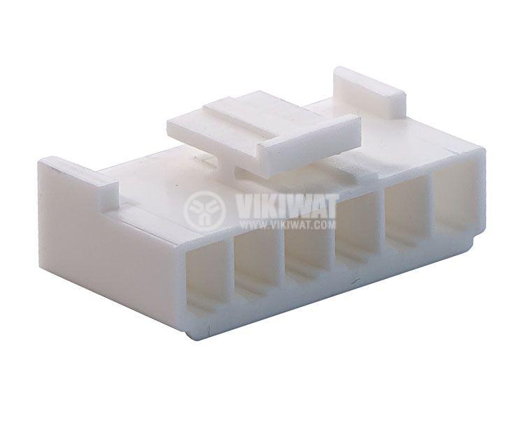 Конектор за обемен монтаж женски, VF39600-6Y, 6 пина - 1