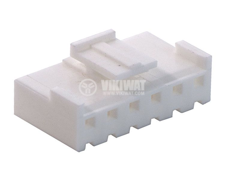 Конектор за обемен монтаж женски, VF39600-6Y, 6 пина - 3
