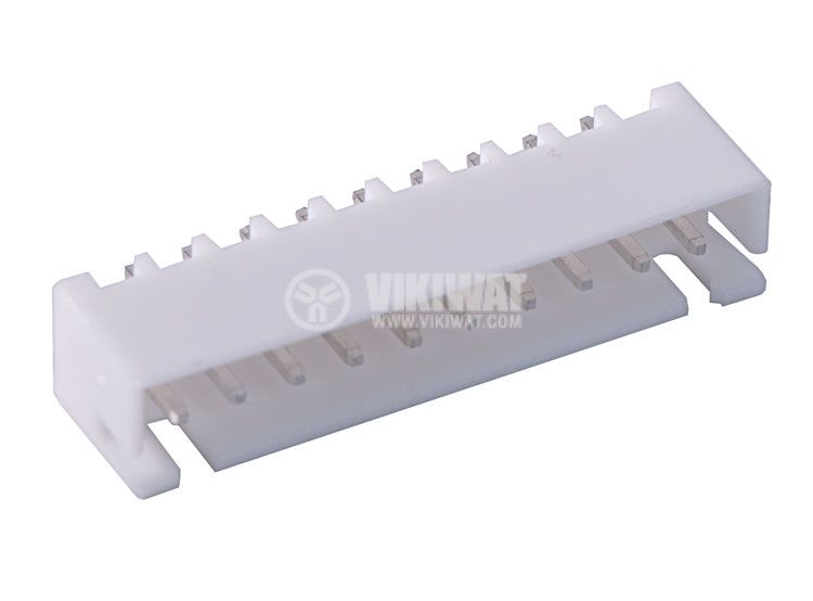 Connector for PCB mounting male, VF25002-10A, 10 pins - 1