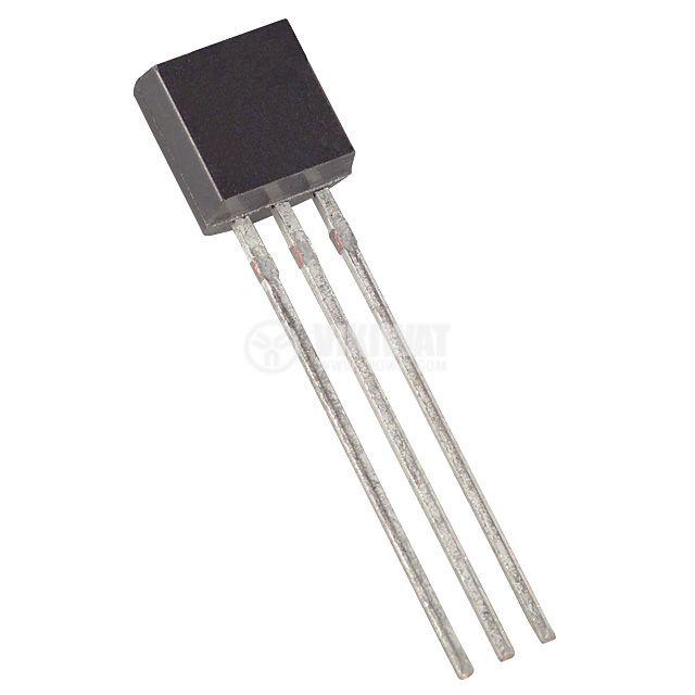 Интегрална схема 78L05, линеен стабилизатор на напрежение, 5V/0.1A,TO92