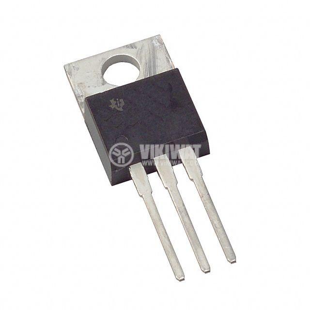 Интегрална схема 78М24; Линеен стабилизатор на напрежение; 24V/0.5A; TO-220 - 1