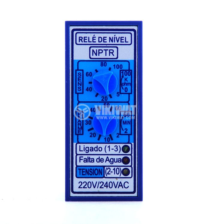 Liquid Level Controller NTPR, 220 VAC, NC + NO - 3