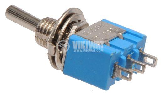 ЦК ключ MTS-102, 3А/250V, 6А/125VAC, SPDT, ON-ON  - 2