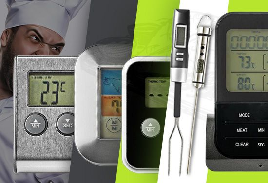 Alangle or well baked? Or how it is modern to say - rare or well done? The choice is yours, and from us the quality cooking thermometer. Now selected models at -15%