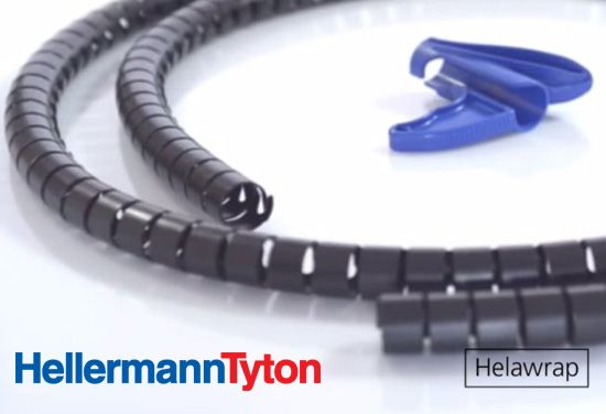 Spiral Cable Wrap Covers HelaWrap by HellermannTyton